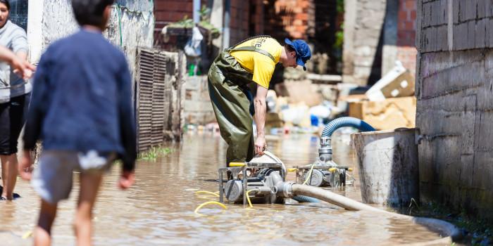 Schöne Landschaft und viel Wasser: Die Flutkatastrophe in Bosnien