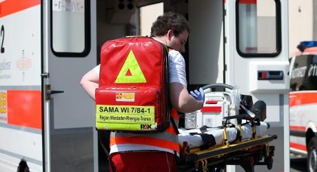 Rettungssanitäter mit Reizgas angegriffen