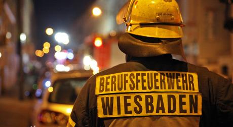 Zwei Verletzte bei Küchenbrand in Schiersteiner Flüchtlingsunterkunft