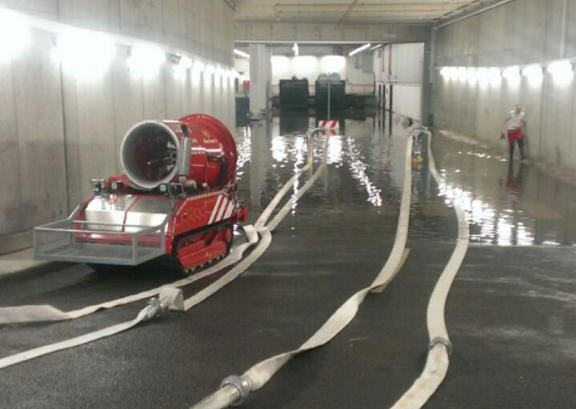 Starkregen sorgt für über 300 Feuerwehr-Einsätze in Frankfurt