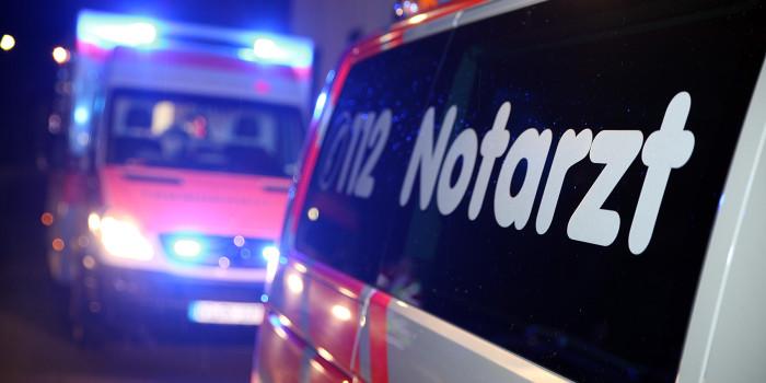 Fußgänger auf Biebricher Allee erfasst – 50-Jähriger schwer verletzt
