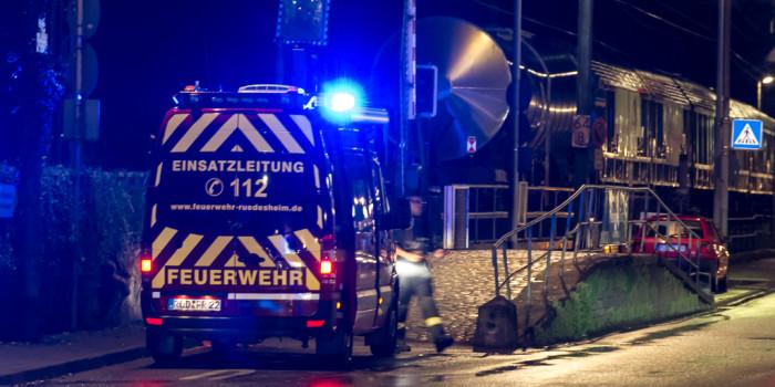 Mann und Frau in Rüdesheim von Güterzug erfasst und getötet