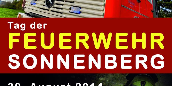 Samstag: Tag der Feuerwehr in Sonnenberg