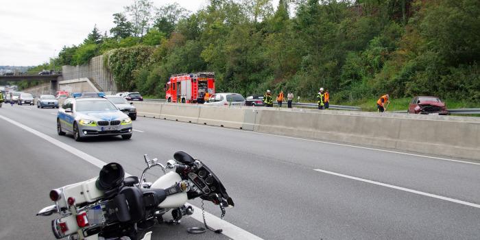Mehrere Verletzte bei Verkehrsunfällen auf der A66
