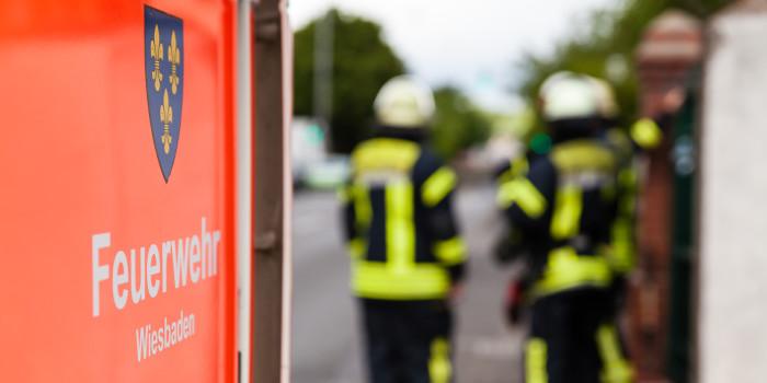 Mülleimer in der Schiersteiner Wupperstraße gesprengt