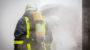 BMW durch Brand schwer beschädigt