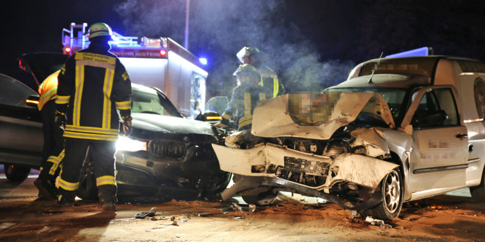 Vorfahrt genommen auf der L3274 bei Idstein – Zwei Schwerletzte