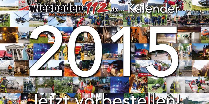 Jetzt bestellen: Der Wi112-Fotokalender 2015 (Ausverkauft!)