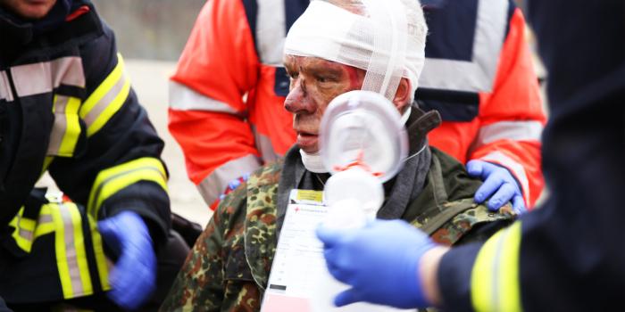Sanitätshelferlehrgang für Osteopathen und Feuerwehrleute