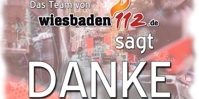 """Wiesbaden112 sagt """"DANKE!"""""""