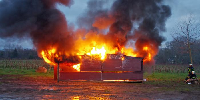 Feuerwehr Rüdesheim testet neues Sicherheitskonzept für den Weihnachtmarkt der Nationen