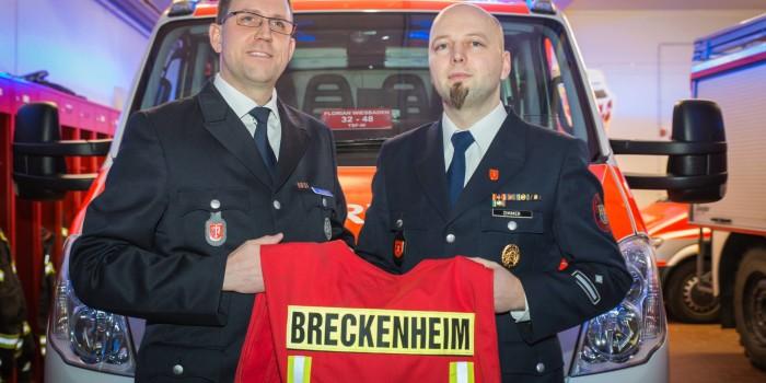 """Neue Wehrführung in Breckenheim – Günther Seitz """"schaltet einen Gang zurück"""""""