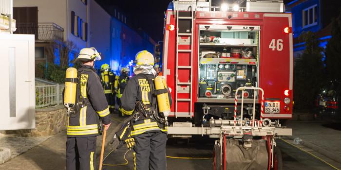CO-Unglück in Bad-Schwalbach – Zwei bewusstlose Personen gerettet