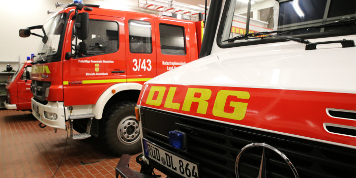 Feuerwehr Hünstetten und DLRG Idstein unterstützen sich