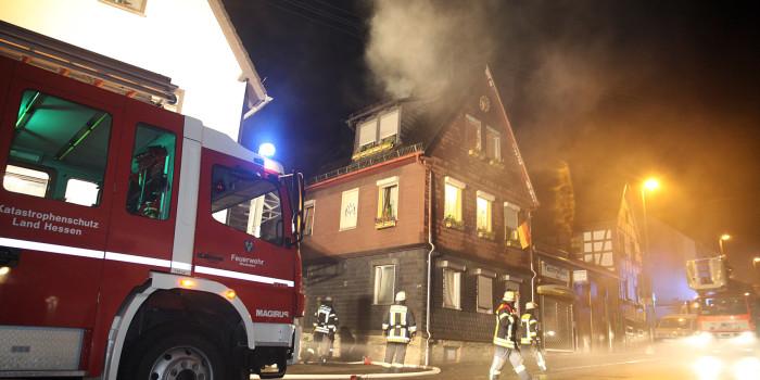 Brennender Wäschetrockner verursacht erheblichen Rauchschaden