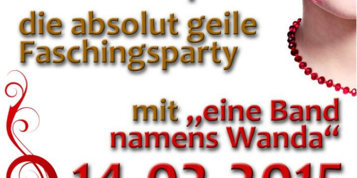 "Faschingsparty ""Ramba Zamba in der Pampa"""