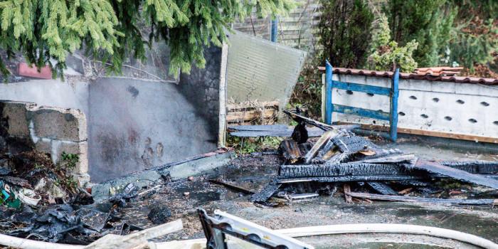 Erneut Feuer auf Grundstück in Fischbach