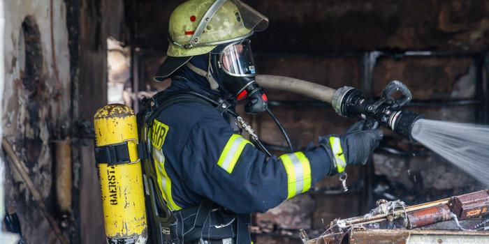 100.000 Euro Schaden – Gartenhütte in Taunusstein abgebrannt