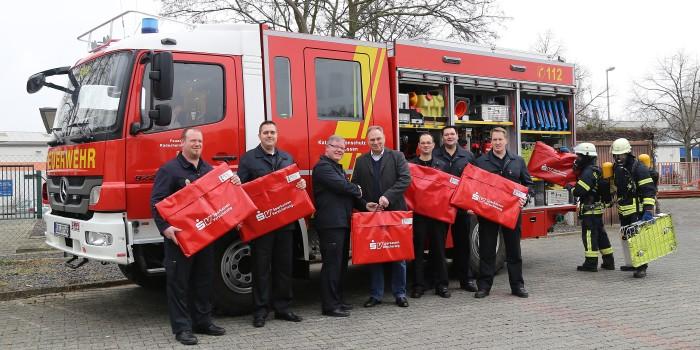 Mobile Rauchverschlüsse für alle Rüdesheimer Löschfahrzeuge