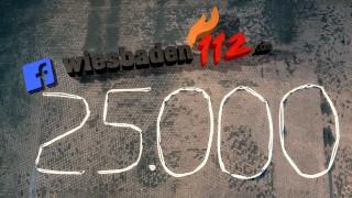 25.000 Wiesbaden112-Facebook-Fans