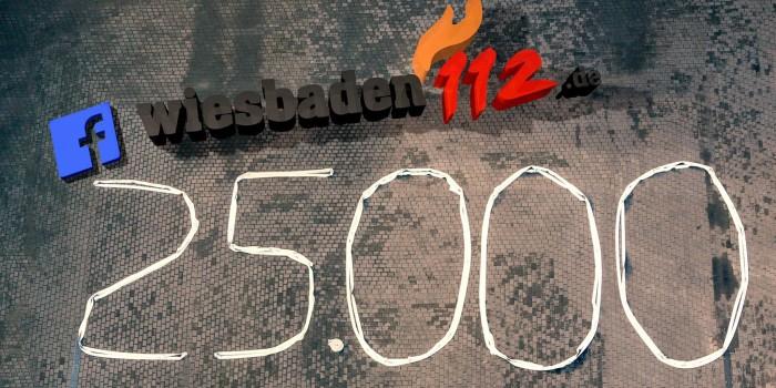 25.000 Facebook Fans: Wir sagen Danke – mit einem Gewinnspiel