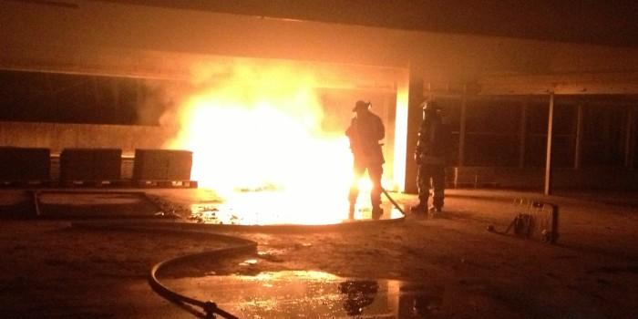 Zwei Brände beschäftigten die Idsteiner Feuerwehr