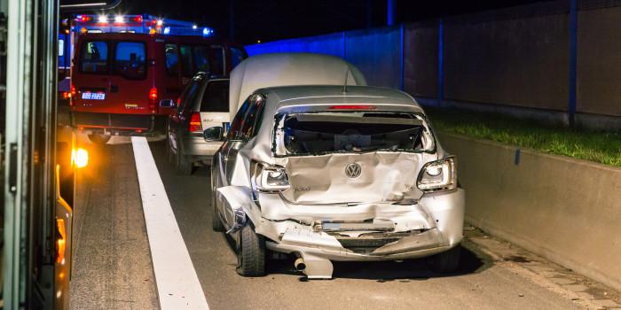 Erneuter Unfall auf der A3 bei Raunheim: Fünf Verletzte nach Auffahrunfall