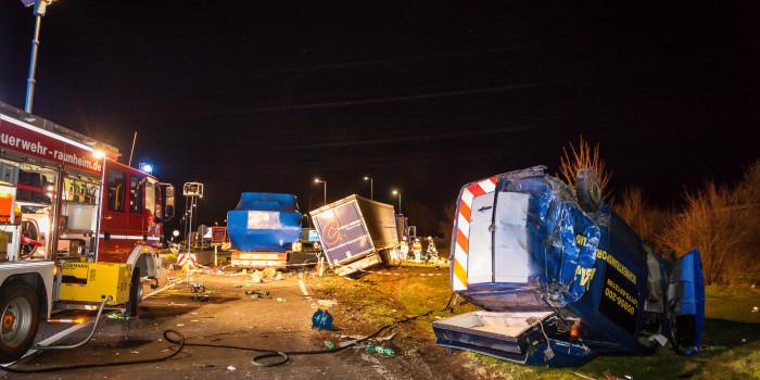 Tödlicher Unfall auf der A3: Wohnmobil-Fahrer wird von Lkw überrollt