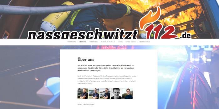 """""""Nassgeschwitzt112.de"""" – Aprilscherz von Wiesbaden112"""