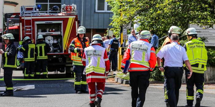 Feuer in Rüdesheimer Sankt Josef Krankenhaus