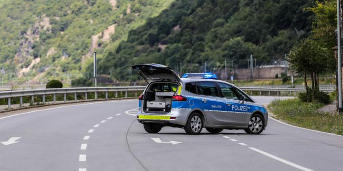 Bombenfund: B 42 zwischen Rüdesheim und Lorch gesperrt