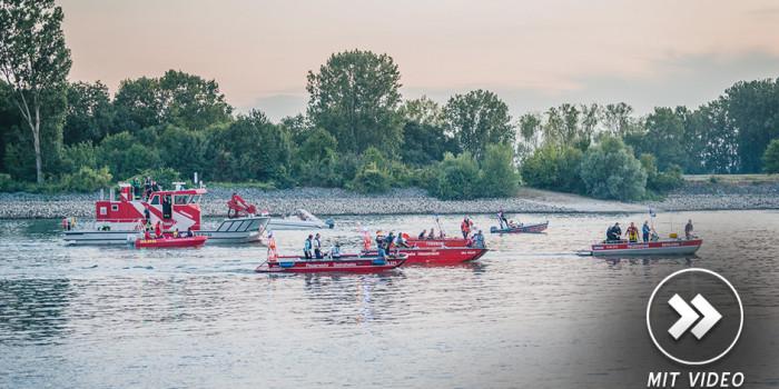 Tragischer Badeunfall – Vater und Sohn versinken im Rhein
