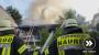 Gebäudebrand in Naurod fordert schwerverletztes Brandopfer