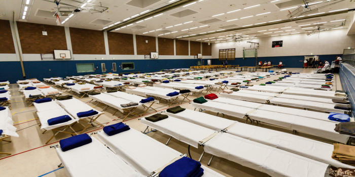 Katastrophenfall im MTK festgestellt: 1000 Flüchtlinge erwartet