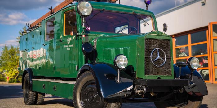 Feuerwehr Idstein restauriert Löschfahrzeug aus dem Jahr 1942