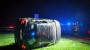Mit Alkohol und ohne Führerschein: 28-Jähriger überschlägt sich mehrfach im Feld