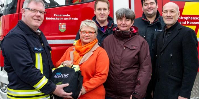 Voraushelfer optimieren die Rettungskette in Rüdesheim und Presberg