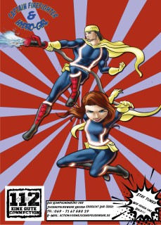 Captain Firefighter & Hydro-Girl