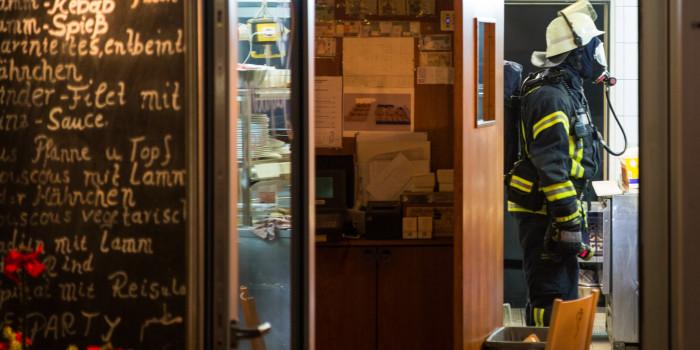 Brand in Abluftanlage eines Restaurants