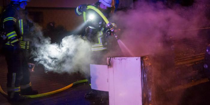 Rauchmelder warnt Bewohner – Nächtlicher Zimmerbrand in Rüdesheim