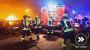 Brennende Balkone, Pkw und Mülltonnen beschäftigen Feuerwehr Wiesbaden in der Silvesternacht