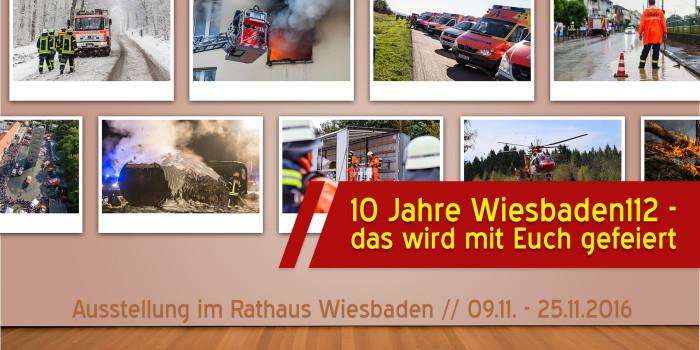 10 Jahre Wiesbaden112 – Wir brauchen Eure Unterstützung!