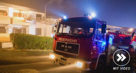 Zigarettenkippe verursacht Wohnungsbrand in Bad Schwalbach