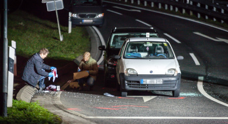 Polizist setzt Schusswaffe ein – Schwerverletzter bei Kontrolle in Mainzer Straße