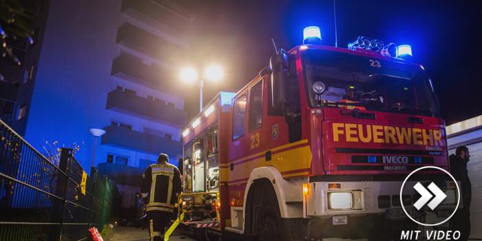 Bewohnerin stirbt bei Wohnungsbrand in Hochhaus