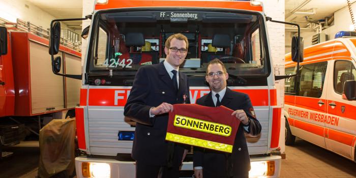 Neue Wehrführung in Sonnenberg – Peter Kusch gibt nach 25 Jahren seine Ämter ab