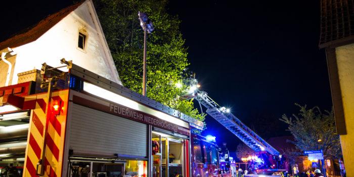 Wohnhausbrand in Niederhöchstadt – 400.000€ Schaden