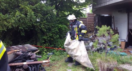 Ausgedehnter Kellerbrand in Mainz-Hechtsheim