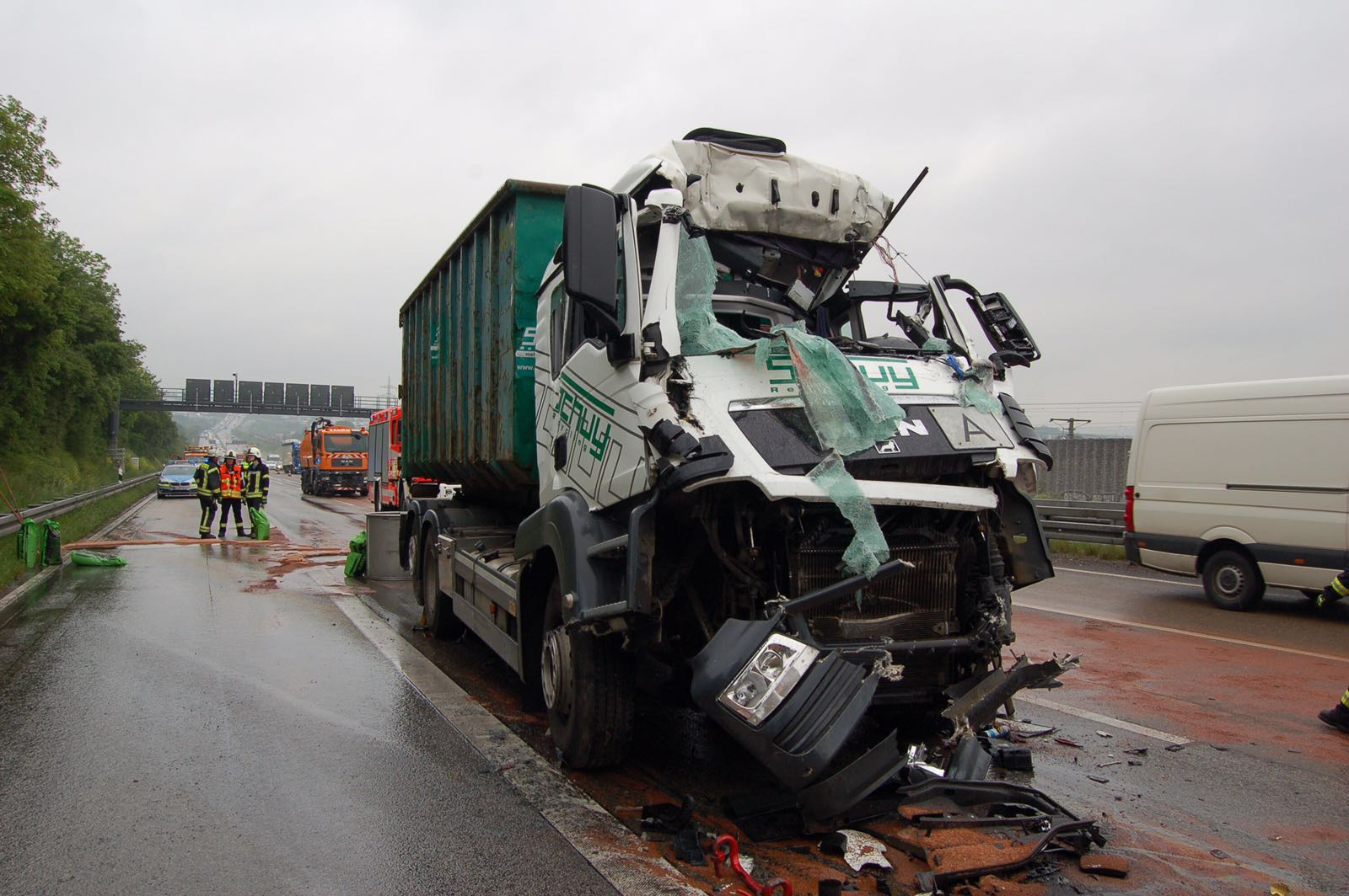 Langer Stau Auf Der A3 Nach Tödlichem Lkw Unfall Wiesbaden112de
