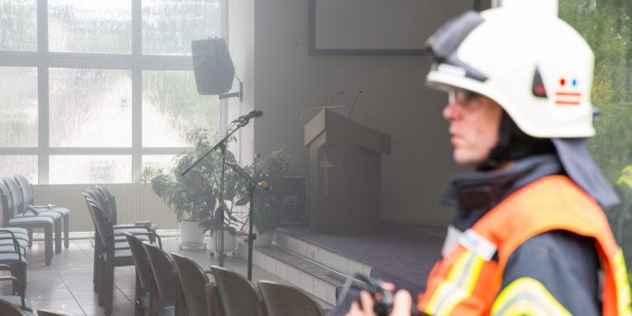 Feuer in Kirche führt zu Großeinsatz in Bad Schwalbach